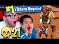Download OMG *NEW* JETPACK IS OVERPOWERED! IM UNTOUCHABLE IN THE SKY! 9 YEAR OLD BROTHER FORTNITE BR 21 KILLS