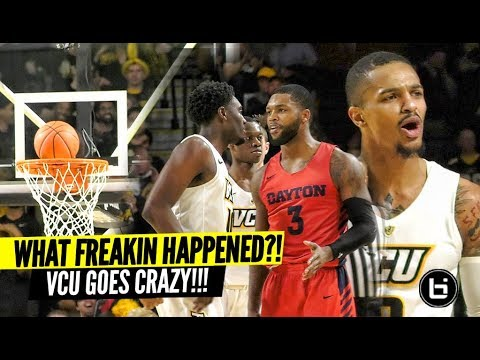 Marcus Evans Called GAME!?! VCU vs Dayton Gets HEATED!!