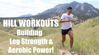 HOW TO RUN UPHILL FASTER! BOOST AEROBIC POWER AND LEG STRENGTH: Sage Canaday Running Tips