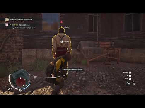 ASSASSINS CREED SYNDICATE|| KIDNAPPING GANG LEADER || PART 5