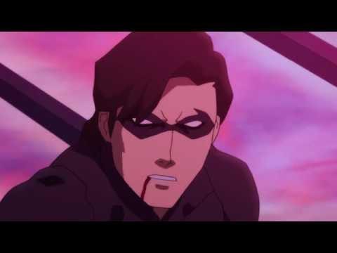 Бэтмен против найтвинга мультфильм