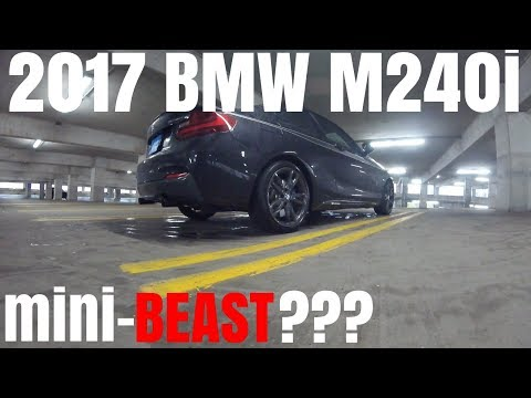 2017 BMW M240i 0-60 & Review / Test Drive