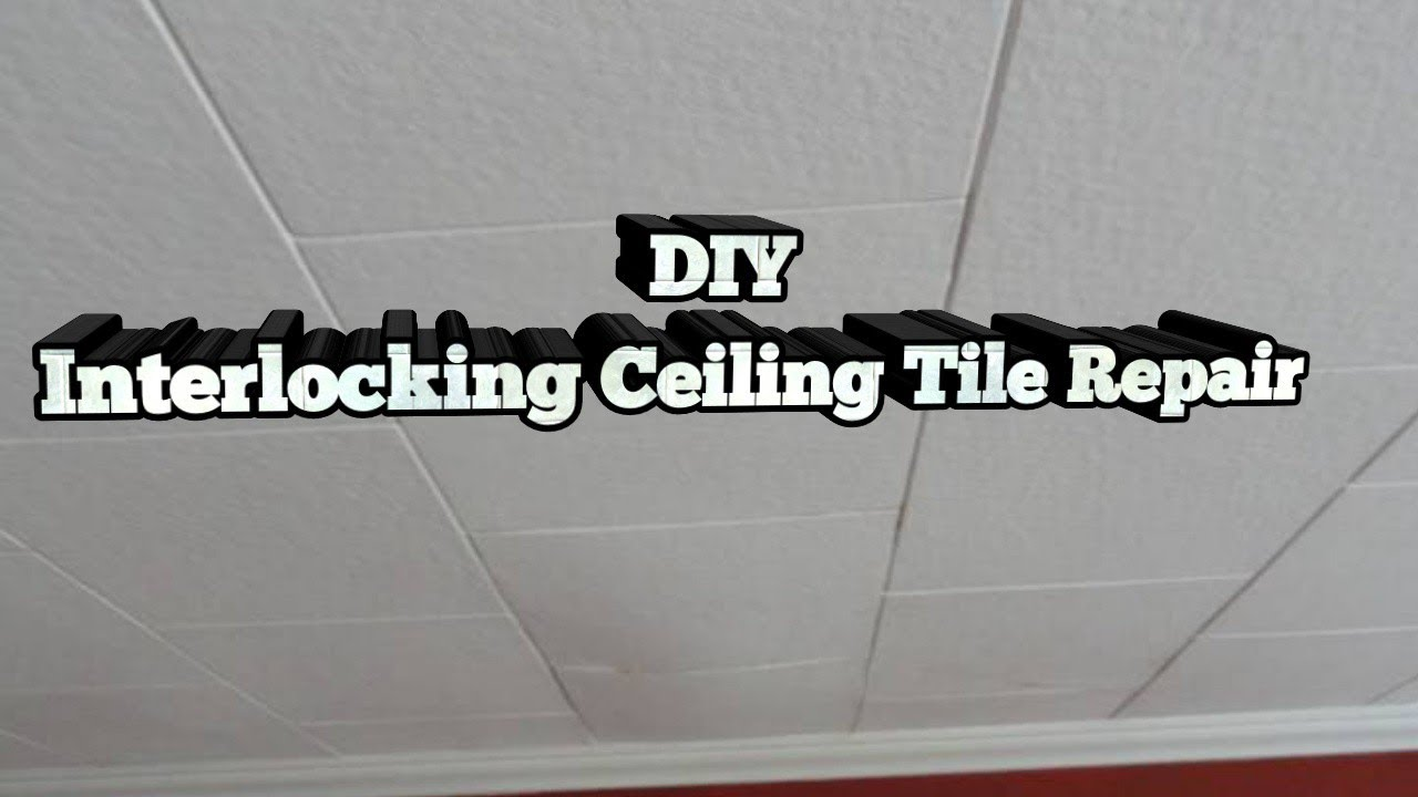 How To Replace Ceiling Tiles Youtube