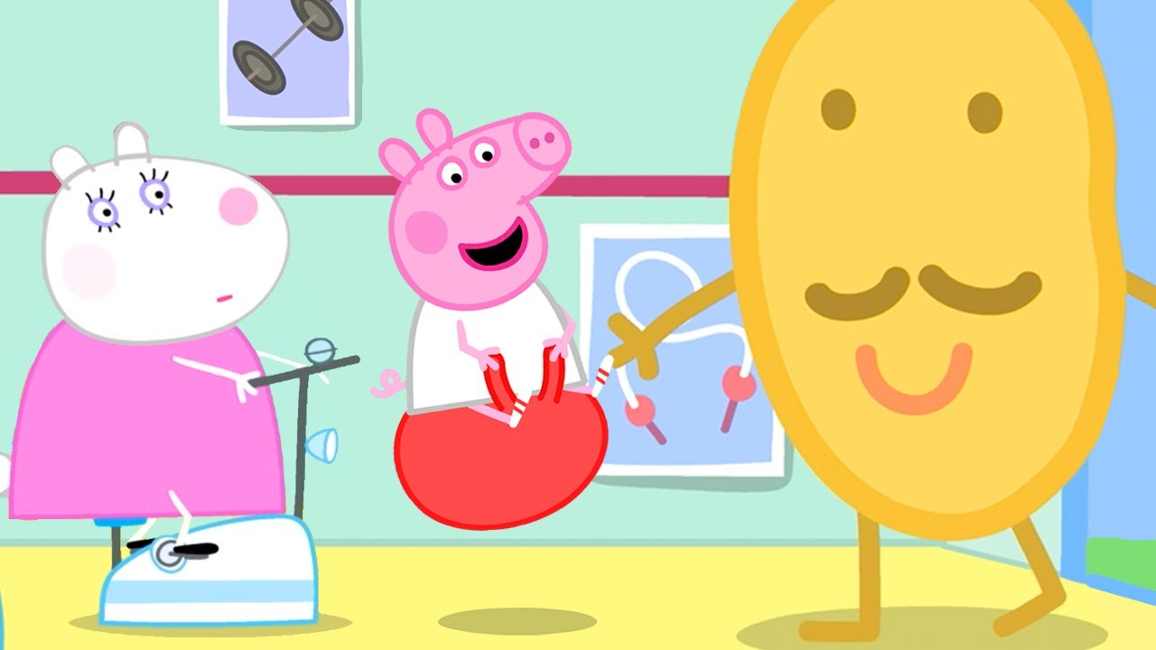 Peppa Pig Official Channel ? Mr Potato's Opens a New Sports Centre