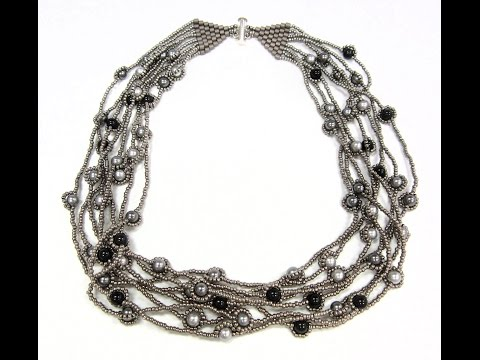 Jewel School: River of Pearls Necklace