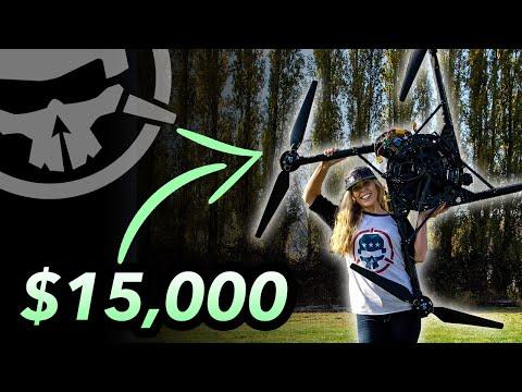 PowerLoop a $15,000 Drone!? (Alta X with RCTESTFLIGHT)