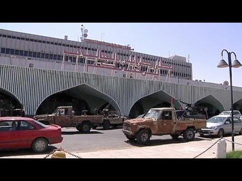 Libyen: Gefechte am Flughafen von Tripolis