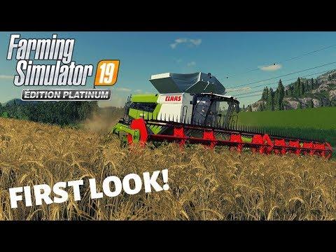 Farming Simulator 19 Platinum Edition | FIRST LOOK! |