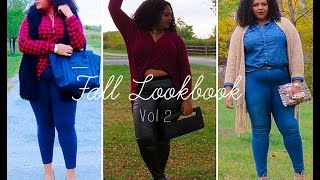 PLUS SIZE FALL LOOKBOOK | UrbnCastles Thumbnail