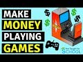 3 Simple Ways To Make Money Playing Games 🕹️🎮💵
