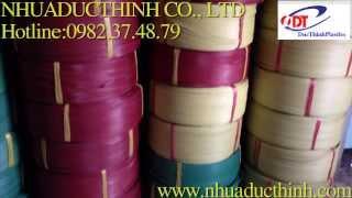 dây đai nhựa pp | day dai nhua  pp - sản xuất dây đai nhựa dai tay