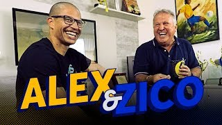 ALEX AND ZICO ABOUT FENERBAHÇE AND CAREER | Canal Zico 10