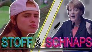 """Lil Angie & Merkel Flex performen """"Stoff & Schnaps"""" von Lil Kleine ..."""