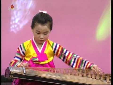 "[Kayagum] ""Tondollari"" (Pak Ye Hong) {DPRK Music}"
