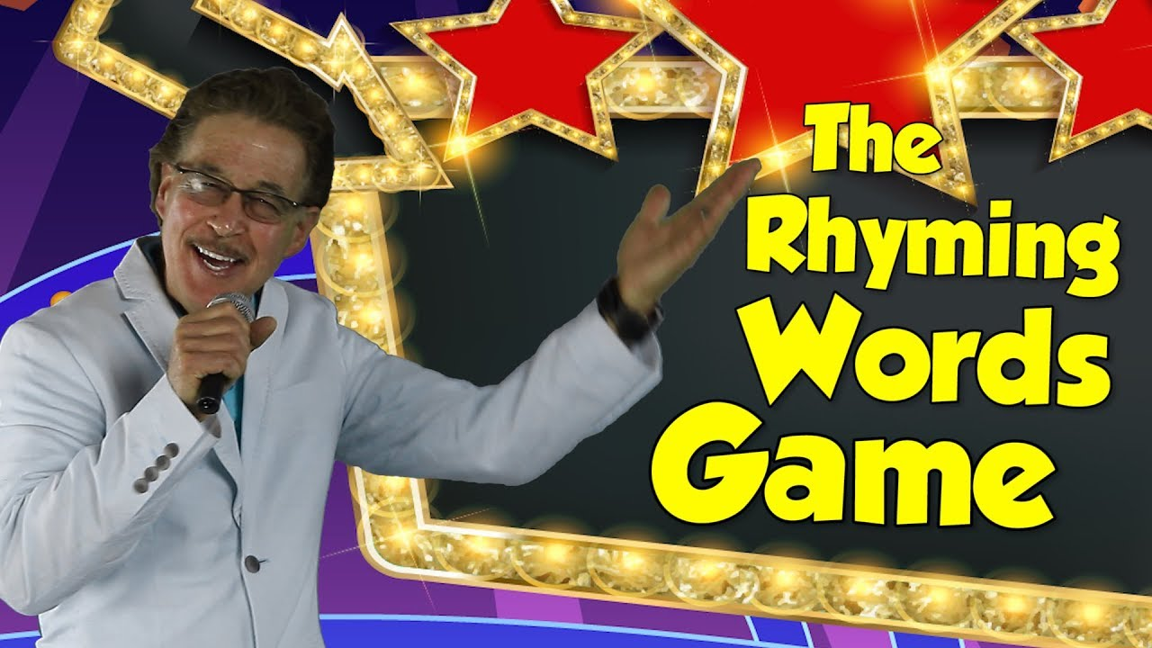 The Rhyming Words Game | Rhyming Song for Kids | Reading & Writing Skills | Jack Hartmann