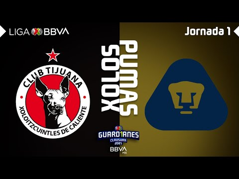 Club Tijuana U.N.A.M. Pumas Goals And Highlights