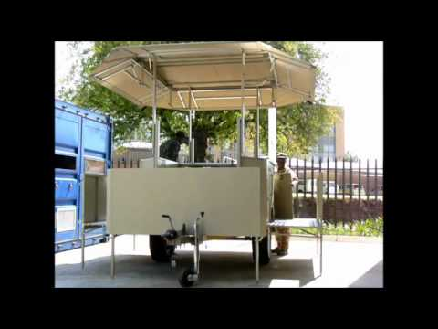 Kitchen Trailer Pots Mounted Field - Youtube