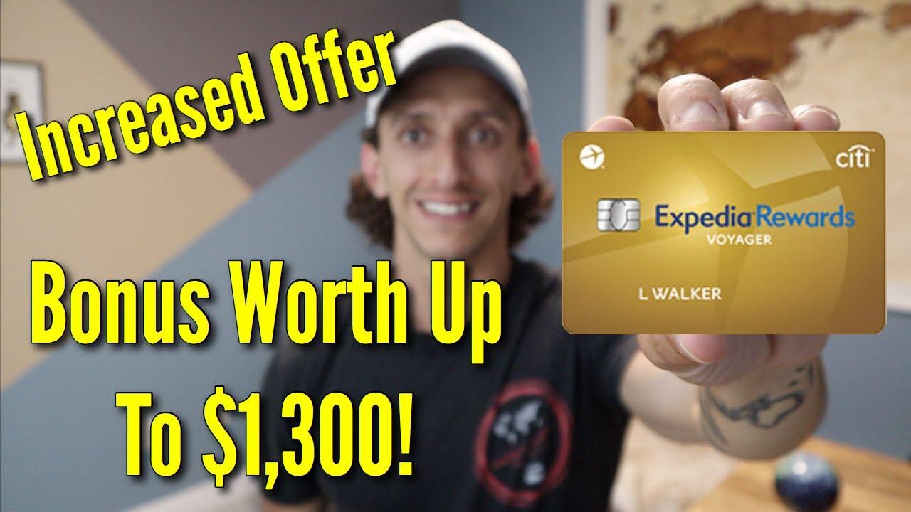 Citi Expedia Credit Card  Big Credit Card Bonus