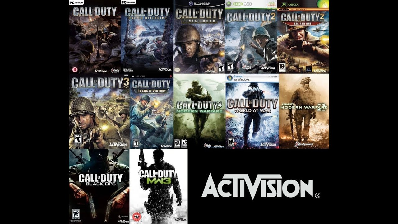 List Of All Cod Games