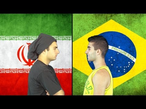 Brazil vs. Iran Part 2 | Immortal Rap Battles Of Nations #16