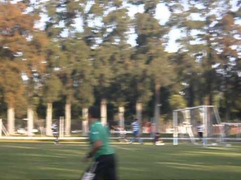 Primer gol en la historia de Fernando Cáceres FC