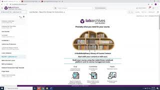 Getting Started with LabArchives Classroom Edition