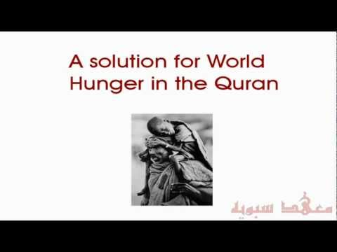 A comprehensive solution for the elimination of World hunger