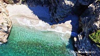 Κρυφές Παραλίες της Αττικής | Secret beaches of Attica Drone Greece