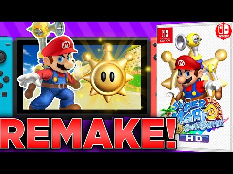 How A Super Mario SUNSHINE Remaster Would Work On The SWITCH!