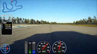 Revline Racing Porsche 944 Turbo GTR Gotland Ring track record 1:26.4