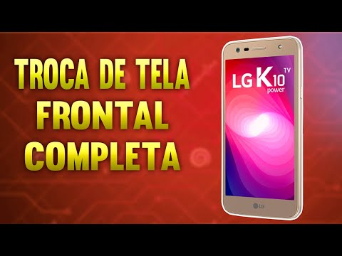 Troca Da Frontal Display LG K10 Power M320TV COMO ABRIR