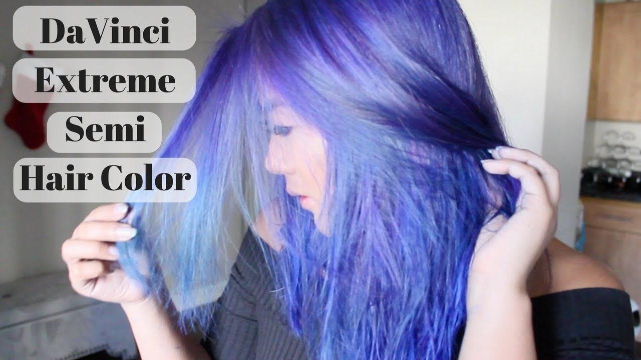 Dyeing Hair With Davinci Extreme Semi Color
