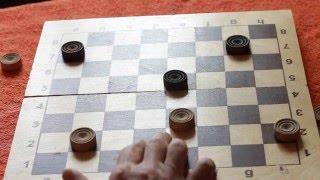 Размен, темп и оппозиция в русских шашках.  Видео урок Владимир Вязовой