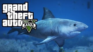 GTA 5 - Play as a Shark / Killer Whale / Dolphin! How To! (Peyote Location in GTA 5 PS4 Xbox One)