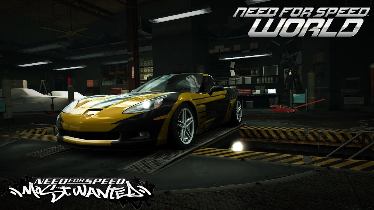 Need For Speed World Cross Corvette Z06 Nfs Most Wanted