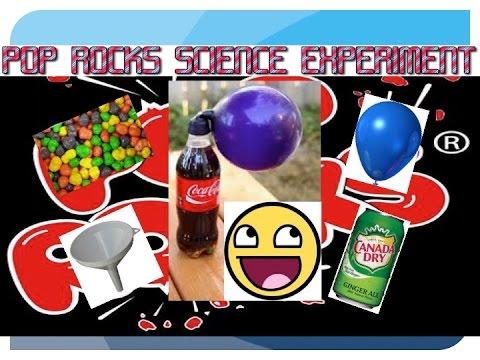 pop rocks soda balloon experiment youtube