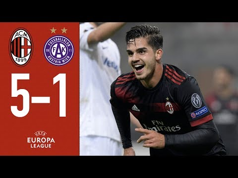 Mission accomplished, we are through: AC Milan v Austria Vienna 5-1