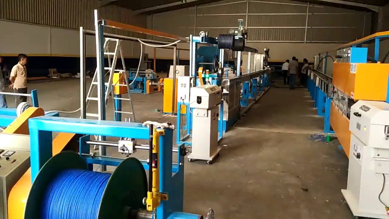 electrical wire insulation line-electrical cable production line ...