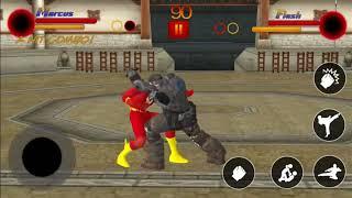 Marcus vs Flash #37 SuperHeroes Street Fighter   Modern Fighting Games