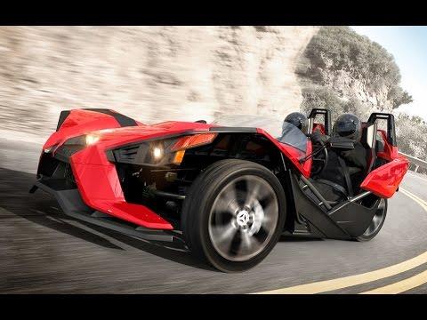 all-new polaris slingshot three-wheeler unveiled (5 photos) - youtube