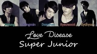 Super Junior Love Disease Lyrics