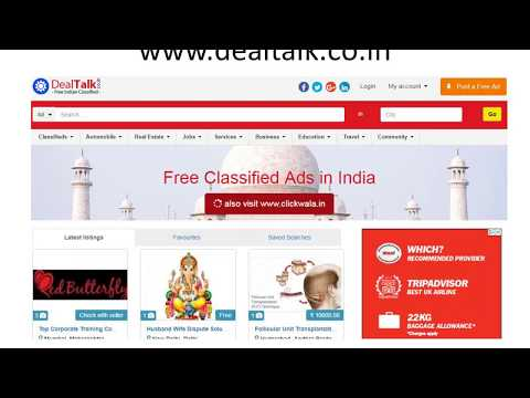 india-classifieds-|-post-free-classified-ads-in-india---www.dealtalk.co.in