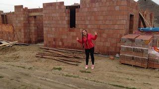 Budowa domu KROK PO KROKU etap 4: murowanie ścian, szalowanie,zbrojenia,strop,nadproża