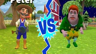 Dark Riddle 2 vs Dark Riddle Mod APK ( Lepricon Girl vs Peter )