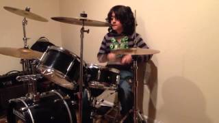 Raghav 8 year old drummer - Your Wife is Calling Sound City