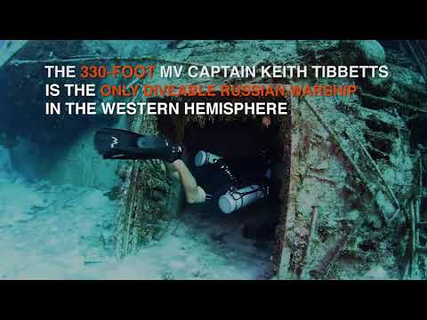 Cayman Islands: Tibbetts Wreck Cayman Brac