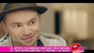 Santiago Cruz nos  presenta su nuevo álbum 'Trenes, aviones y viajes interplanetarios'