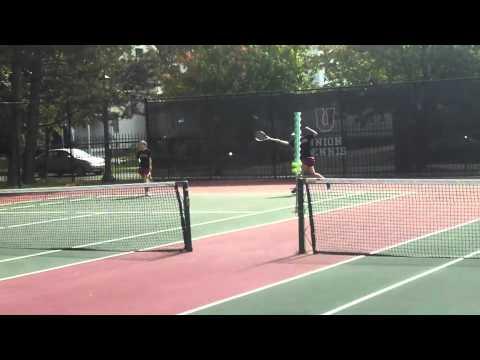 Union Tennis vs Plattsburgh