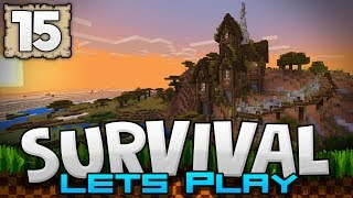 One of JackFrostMiner's most viewed videos: DECKING OUT THE MANSION!!! - Survival Let's Play Ep. 15 - Minecraft 1.2 (PE W10 XB1)