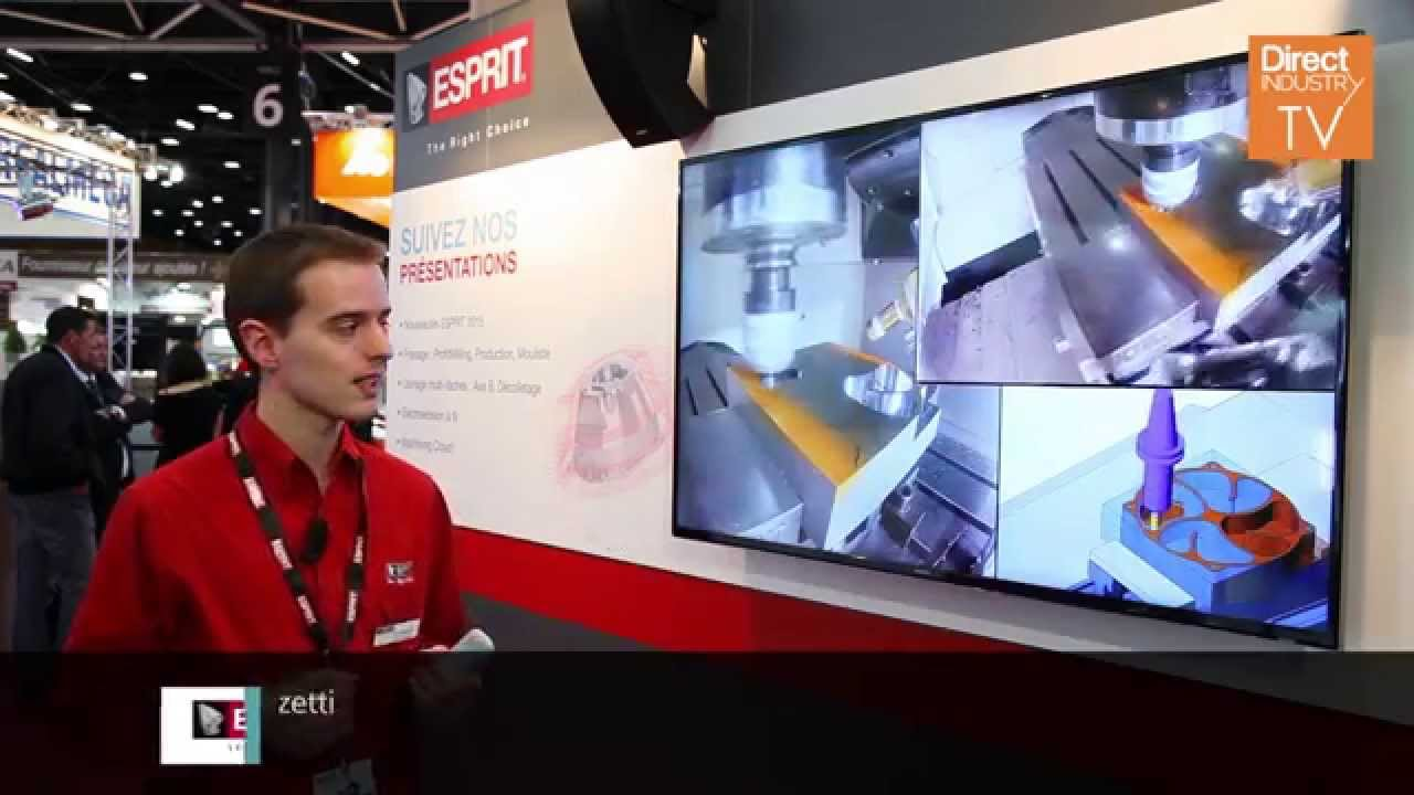 Industrie Lyon 2015: Interview with DP Technology/Esprit